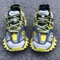 Vintage Balenciaga 3.0 Casual Shoes Sneakers Yellow