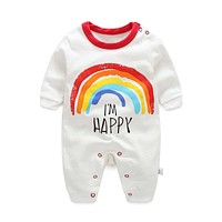 Newborn Fashion Long-sleeved Cotton Infant Romper