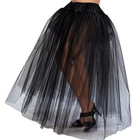 Double Layered Rock N Roll Petticoat Halloween Accessory