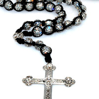 Iced-Out Shamballa Rosary