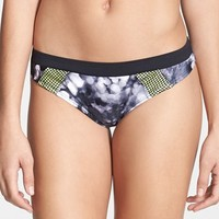 Women's adidas 'Space Case' Banded Hipster Bikini Bottoms
