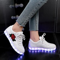 Kids Luminous Sneakers for Girls & Boys with Light Led Shoes
