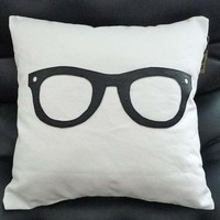 Geek Pillow For College Dorm by PillowThrowDecor on Etsy