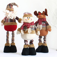 Special Santa Claus Snow Man Reindeer Doll Christmas Decoration Christmas Tree Hanging Ornaments Pendant Christmas Gift [9601215823]