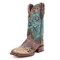 Dan Post Copper & Turquoise Bluebird Cowgirl Boots DP2914 - PFI Western Store