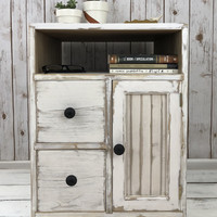 The Carolina Farmhouse End Table / Night Stand