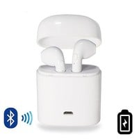 Dual Chamber Wireless Bluetooth Earphones With Charging Box for Apple Android