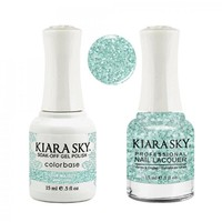 Kiara Sky Matching Gel Polish and Nail Lacquer Your Majesty, 500