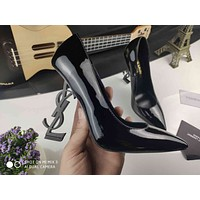 ysl women casual shoes boots fashionable casual leather women heels sandal shoes 39