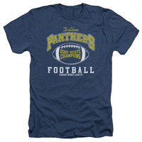 FRIDAY NIGHT LIGHTS/STATE CHAMPS - ADULT HEATHER - NAVY - SM - NAVY -
