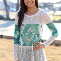 Someday Tunic - Mint