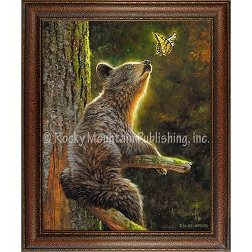 Butterfly Effect – Framed Giclee Canvas by Dallen Lambson