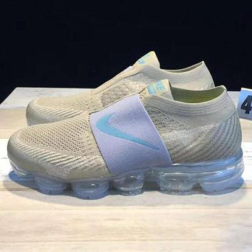 Tagre™ Nike Air Vapormax Fashion Men Sport Casual Sneakers Running Shoes Khaki I-CSXY