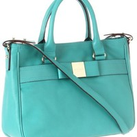Kate Spade New York Primrose Hill-Goldie  Satchel,Antique/Teal,One Size