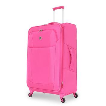 "French West Indies Fuchsia 29-inch Lightweight Spinner Upright Suitcase | Overstock.com Shopping - The Best Deals on 28""-29"" Uprights"