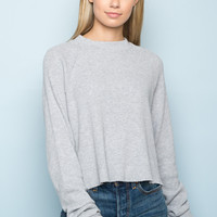 Abigail Thermal Top - Sweaters - Clothing