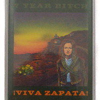 Vintage 90s 7 Year Bitch ¡Viva Zapata! Riot Grrrl Alternative Album Cassette Tape