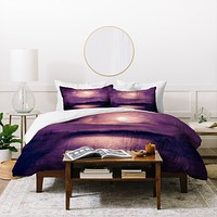 Viviana Gonzalez Purple Sunset Duvet Cover