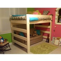 The Premier All Sizes Solid Wood Loft Bed
