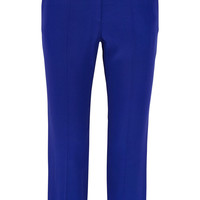 Alexander McQueen - Cropped crepe tapered pants