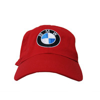 Club Foreign BMW Dad Hat In Red