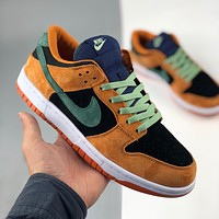 Nike Dunk Sb Low So Ceramic Ugly Duckling Black Orange Casual Shoes