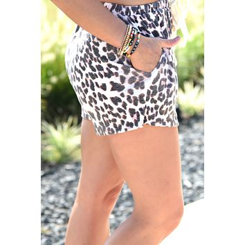 Your Next Move Shorts - Leopard