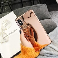 Hot Clear Soft Mirror iPhone Case