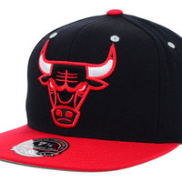 Chicago Bulls NBA 2-Tone High Crown Fitted Cap