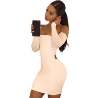 Amaya off shoulder mini dress
