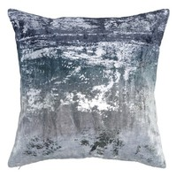 Donna Karan New York Ocean Velvet Accent Pillow | Nordstrom