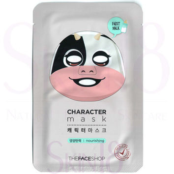 The Face Shop Character mask - Cow (Nourishing + First Milk)