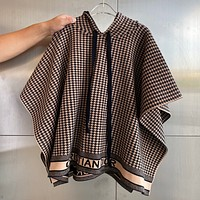Dior Chihuage cashmere knitted Cape
