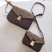 Louis Vuitton Lv Pochette Metis Crossbody Satchel Shoulder Bag #2200
