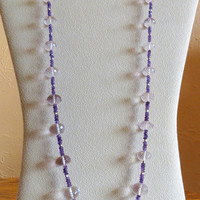 Jewelry, Lovely Shades of Amethyst and Sterling Silver, Statteam