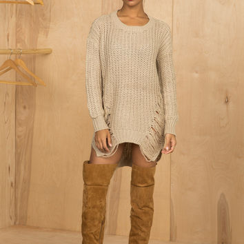 Barely There Sweater Dress