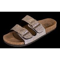 Glitter Silver Sandals - S20 - Simply Southern