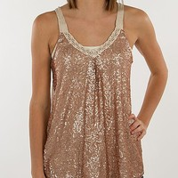 Jolt Sequin Tank Top