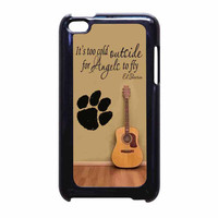 Ed Sheeran Guitar And Song Quotes iPod Touch 4th Generation Case