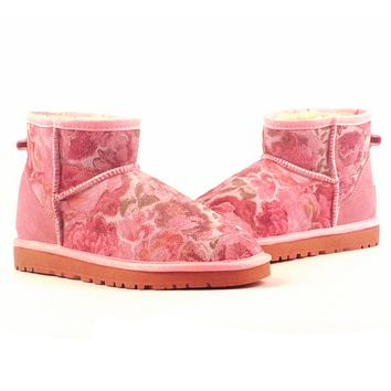 UGG> snow boots leather boots, female + male