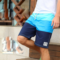men's swimwear boardshorts board shorts male bermuda Quick dry cotton sports beach wear swimming trunks GYM running shorts b9
