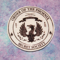 Order of the Phoenix - Secret Society Logo Iron On Patch MTCoffinz
