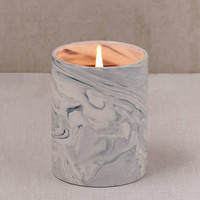 Marble Ceramic Soy Candle   Urban Outfitters
