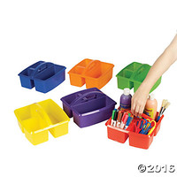 3 Compartment Classroom Storage Caddies