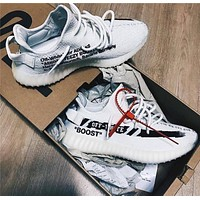 Off White X Adidas Yeezy 350 V2 Boost White/black 36 46 | Best Deal Online