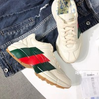 Gucci Rhyton Leather Sneaker #1703