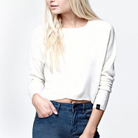 Rusty Crisscross Cropped Knit Sweater at PacSun.com