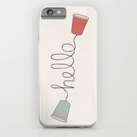 Hello! iPhone & iPod Case by Basilique