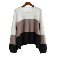 New striped sweater women