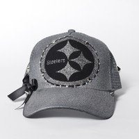 Gun Metal Steelers Snapback